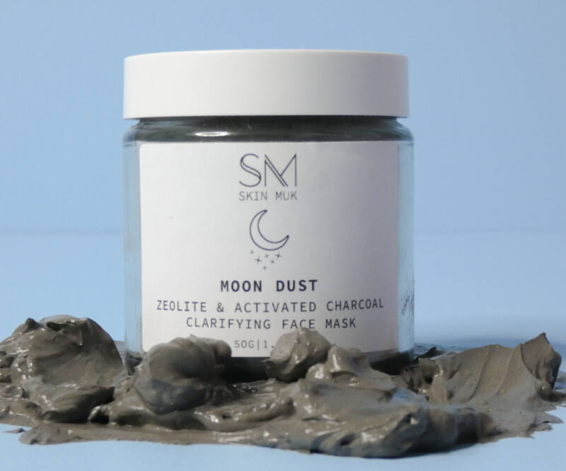 Moon-dust product for oily skin
