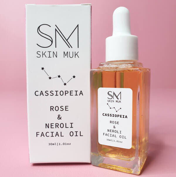 cassiopeia organic facial oil plus box from Skin Muk