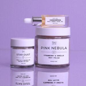 Celestial-Purple-Cassie-on-top | vegan skincare australia